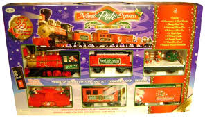 christmas sets eztec 37260 g scale pole express christmas