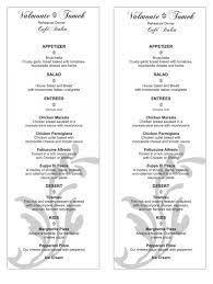 Wedding Reception Program Template Wedding Reception Program Sample Below Is Our Reception