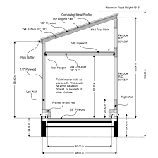 metal roof shed plans roofing decoration
