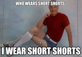 Short Memes - short shorts old guy memes quickmeme