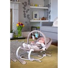 table height baby bouncer bababing lobo2 baby bouncer in grey twill kiddicare