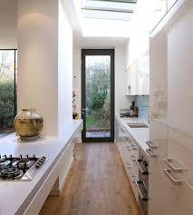 narrow kitchen design ideas narrow kitchen ideas best 25 long narrow kitchen ideas on