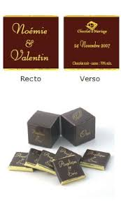 chocolat mariage chocolat de mariage une alternative aux dragées