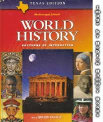 high school history book books on world history