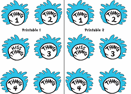 thing 1 circle template images reverse search