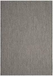 Grey Outdoor Rugs Indoor Outdoor Rug Black Light Grey Courtyard Safavieh