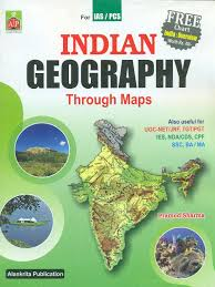 Maps For Buy Indian Geography Through Maps For Ias Pcs Examinations Book