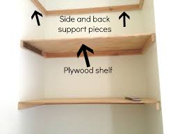Free Woodworking Plans Floating Shelves by Diy Floating Shelves Free Plans Step Andrea Outloud