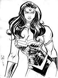 wonder woman sketch by jebriodo on deviantart