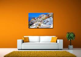 Amazon Wall Murals Amazon Com So Crazy Art Wall Art Painting Santorini Greece