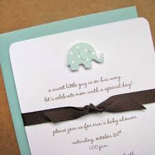 Handmade Baby Shower Invites - baby shower invitations with ribbon linksof us