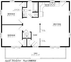 House Site Plan by Guest House 30 U0027 X 22 U0027 Floor Layout Musketeer Floor Plan