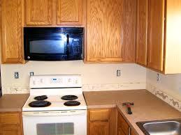 Kitchen Backsplash Height Bathroom Enchanting Kitchen Counters And Backsplash Height