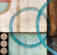 online get cheap brown blue wall art aliexpress com alibaba group