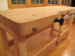 Wood Bench Vise Reviews by New Workbench From Lie Nielsen Toolworks Popular Woodworking
