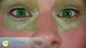 green halloween contacts green contact lenses eyesbright com youtube