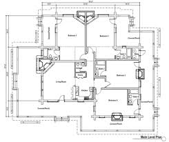 Pier Foundation House Plans by Log Style House Plan 4 Beds 4 50 Baths 2620 Sq Ft Plan 451 6