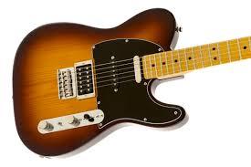 modern player telecaster plus fender electric guitars
