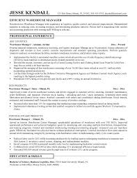 Sample Resume For Shipping And Receiving by Create My Resume Sample Resume For Warehouse Supervisor