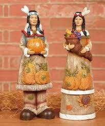 thanksgiving pilgrim statues set of 2 autumn harvest wood carved thanksgiving pilgrim