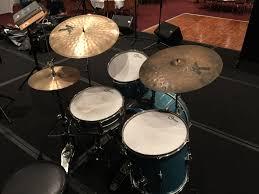zildjian k light flat ride 20 my 1961 pearl drums