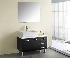 bathrooms cabinets long single sink vanity 48 white bathroom