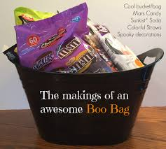 Halloween Candy Gift Baskets by Let The Boo U0027ing Begin Boo Kit And Haunted House Ideas