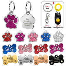 Engravable Dog Tags Personalized Dog Tags Ebay