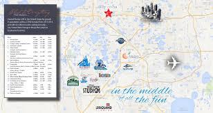Florida City Map City Center West Orange