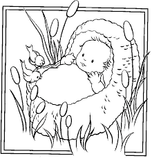 free bible coloring pages baby moses christian ed to go this