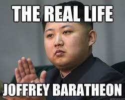 Joffrey Meme - the real life joffrey baratheon game of thrones kim quickmeme