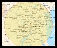 washington dc region map asl interpreting services in washington dc