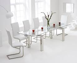 Black Glass Extending Dining Table 6 Chairs Glass Extending Dining Table And 6 Chairs Home Design Hay Us