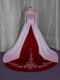 Red And White Wedding Dresses Wedding Dresses With Black And Red Accents List Of Wedding Dresses