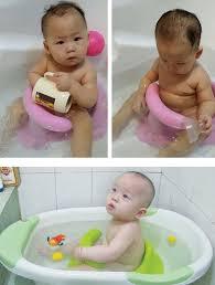 Bathtub Ring Seat New Kids Anti Slip Safety Chair 4 Colors Baby Bath Tub Ring Seat