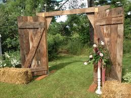 wedding arch using doors wedding barn doors panache event planning wedding
