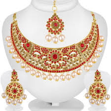 indian bridal jewelry necklace images Spargz indian bridal jewellery bollywood ad stone ethnic wear jpg