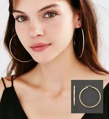 90s hoop earrings sized hoop earrings 90s style fashions and jewelry a