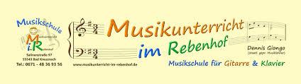 Kreis Bad Kreuznach Musikschule Musikunterricht Im Rebenhof Dennis Giongo