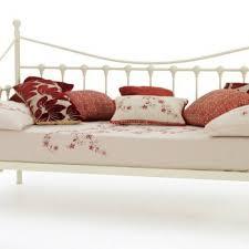 Marseille Bedroom Furniture Metal Day Beds Marseilles In Black Or Ivory Bedroom Furniture