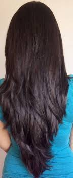 back of hairstyle cut with layers and ushape cut in back beautiful long hair v cut ideas on pinterest shaped haircut 20 for