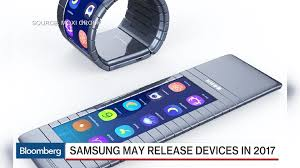 samsung may release phones with bendable screens in 2017 bloomberg