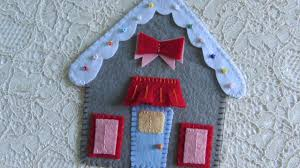 make a felt gingerbread house diy crafts guidecentral youtube