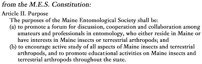 maine entomological society home page