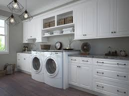 how to install base cabinets in laundry room dakota white pre assembled laundry room cabinets the rta store