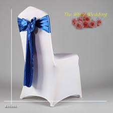 royal blue chair covers free shpping 100pcs lot cheap navy blue chair sash for wedding
