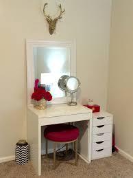 bedroom design fabulous makeup vanity with drawers vanity set