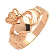 claddagh rings rings 10ct gold claddagh ring crossroads