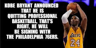 Kobe Bryant Memes - kobe bryant retires imgflip