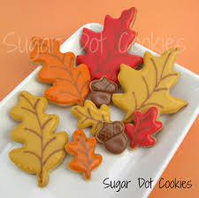fall sugar cookie decorating ideas decoration image idea